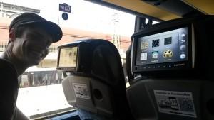 Busfahrt nach Prag