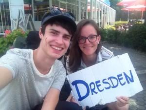 Tramper von Berlin nach Dresden