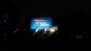 Open Air Kino am Olympiasee