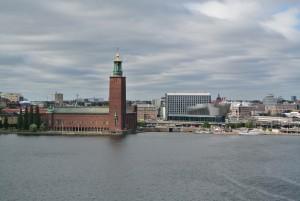 Stockholm mit Blick aufs Kungsholmen