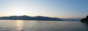 Ausblick beim Spaziergang am See