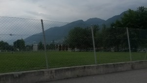 Kurzer Abstecher beim Trainingszentrum in Tenero ;)
