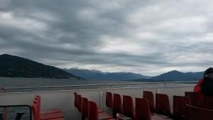 Bootsfahrt über den Lago Maggiore